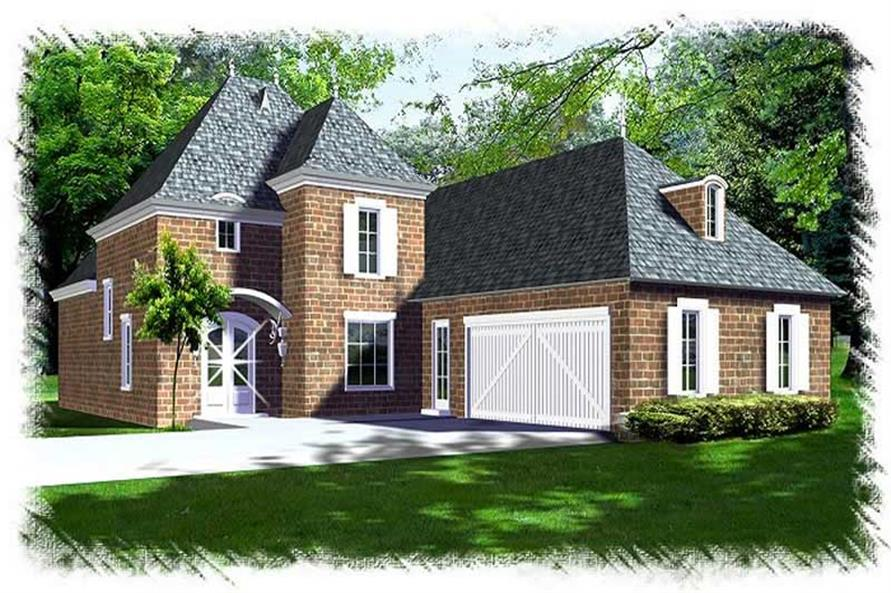 Main image for house plan # 9521