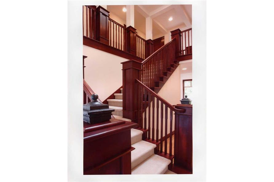 Stairs of this 3-Bedroom,3130 Sq Ft Plan -3130