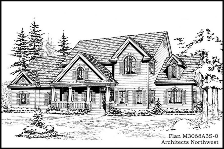 Main image for house plan # 14869