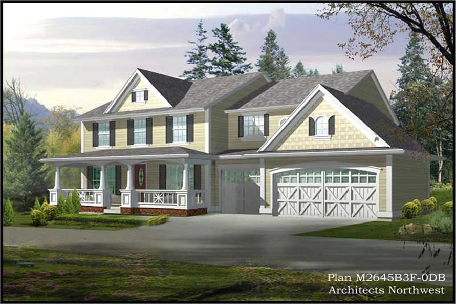 Main image for house plan # 14767