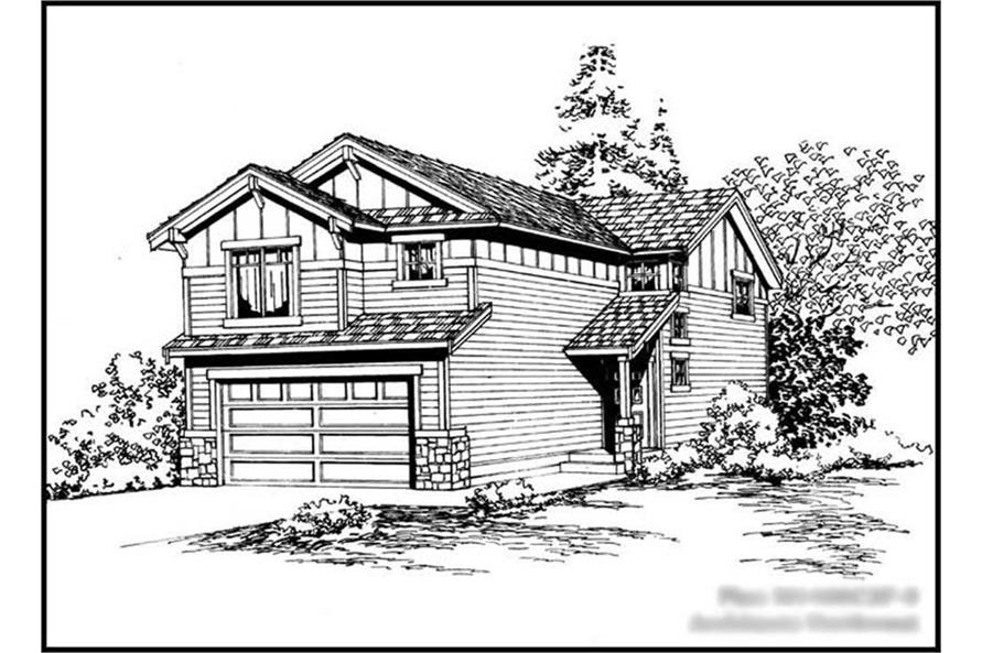 Main image for house plan # 14602