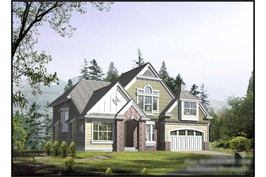 Main image for house plan # 14760