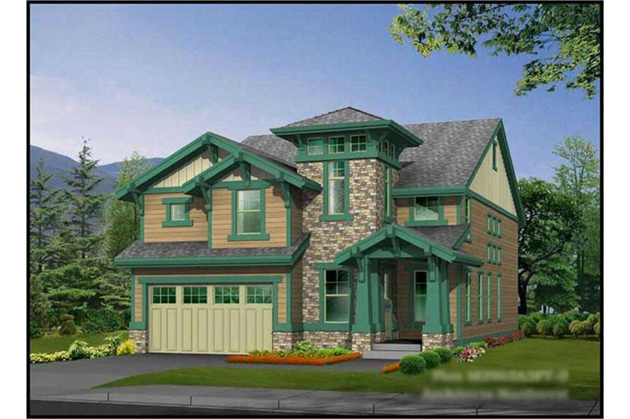 4-Bedroom, 2965 Sq Ft Ranch House Plan - 115-1023 - Front Exterior