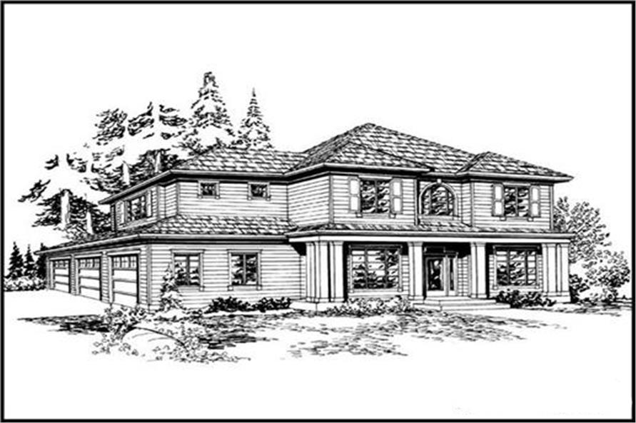 Main image for house plan # 14825