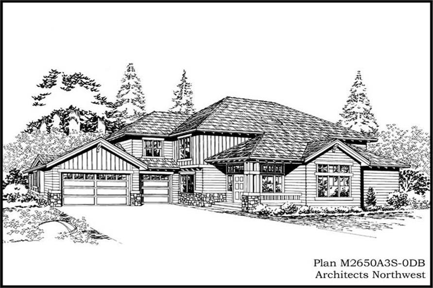 Main image for house plan # 14775