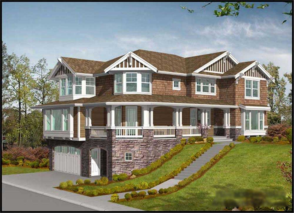 Multi Level Traditional Home With 4 Bedrms 3630 Sq Ft