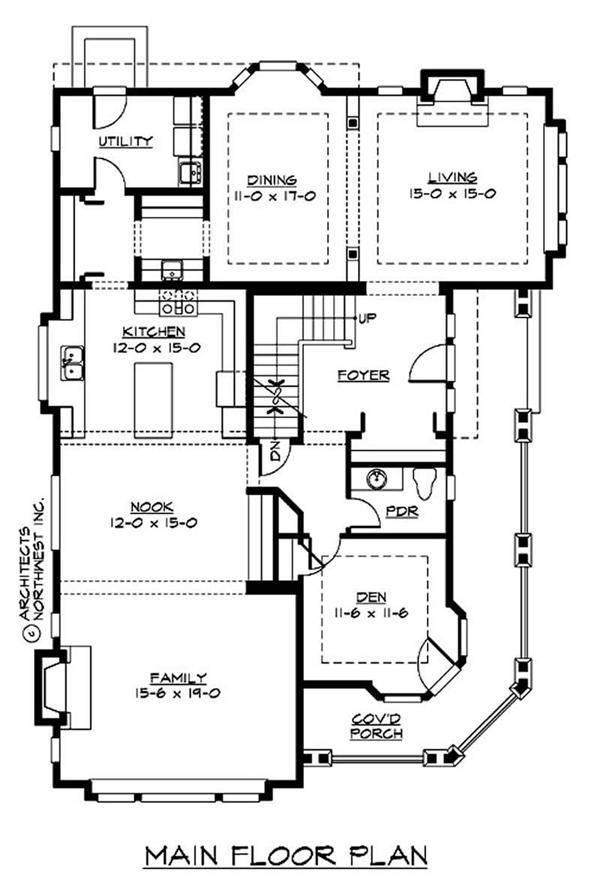 Traditional multi level house plans home design cd m3630a3su 0 14997 for Multi level floor plans
