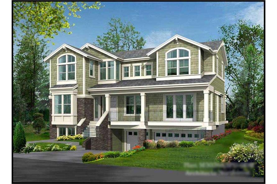 Main image for house plan # 14863