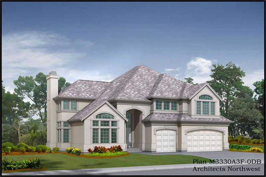 Main image for house plan # 14931