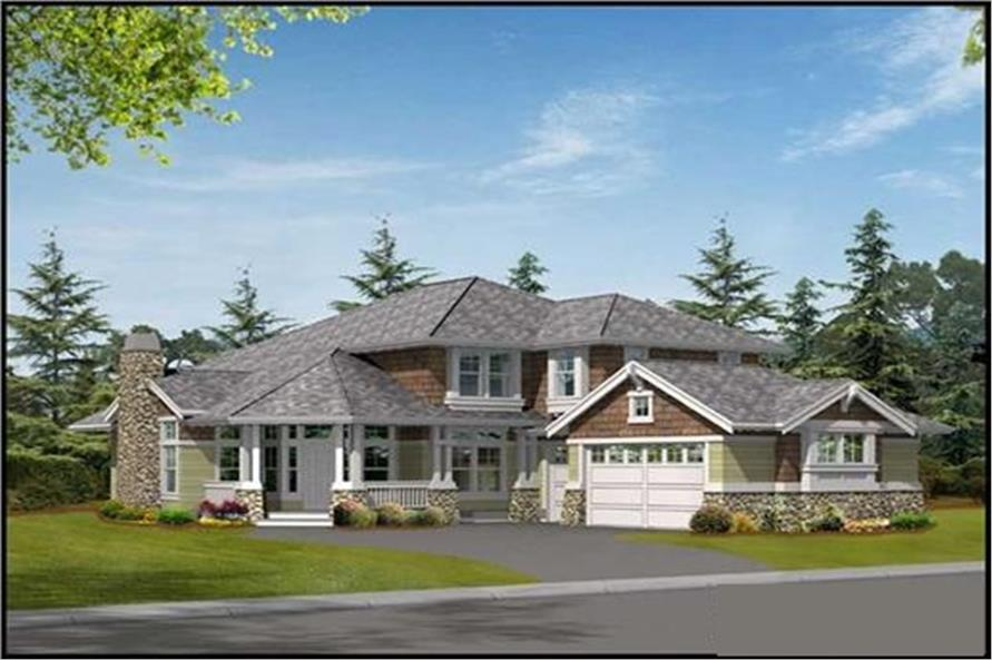Main image for house plan # 14871