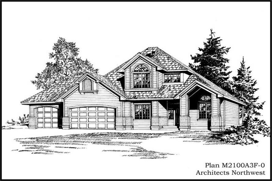 Main image for house plan # 14653