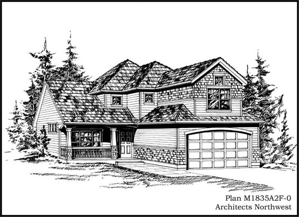 Main image for house plan # 14630