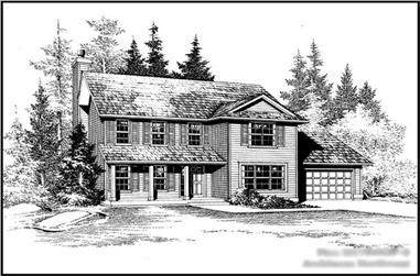 Main image for house plan # 14627