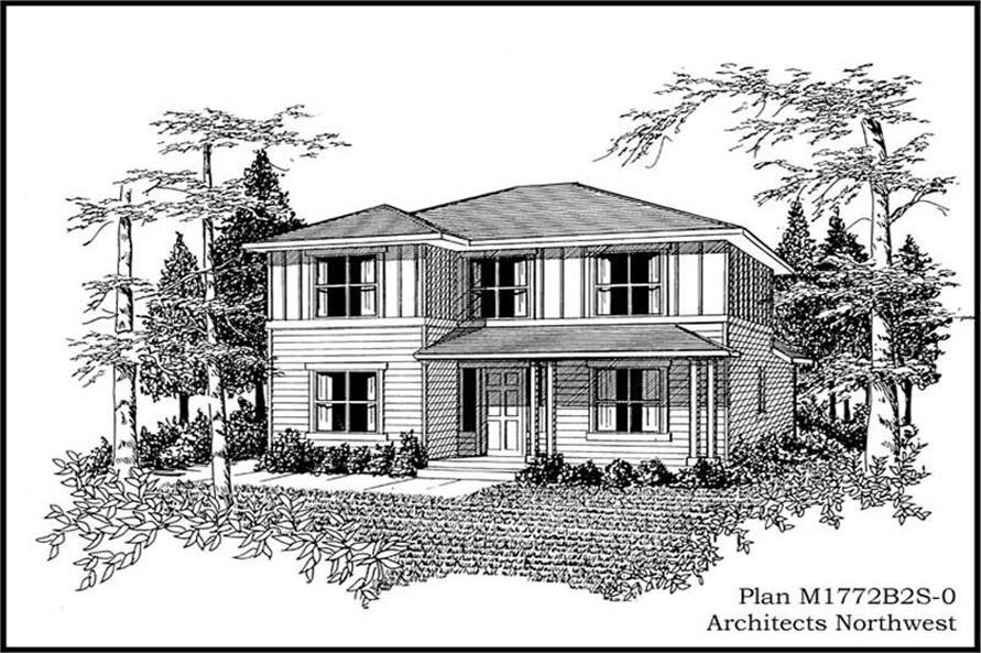 Main image for house plan # 14623