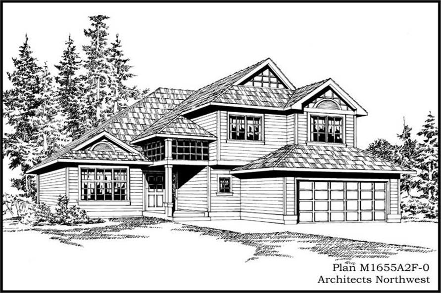 Main image for house plan # 14617