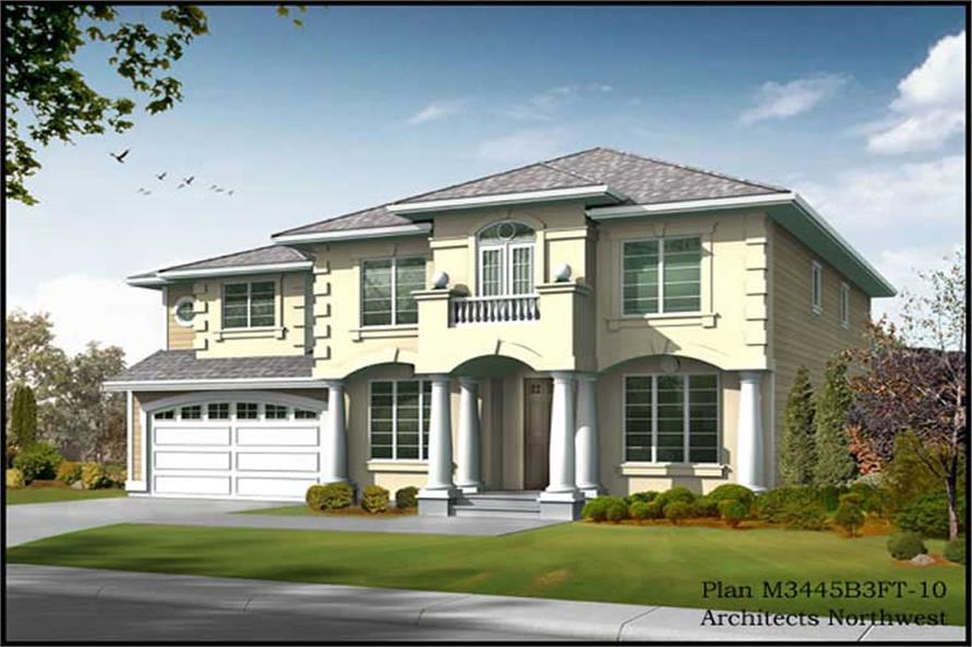 Main image for house plan # 14966