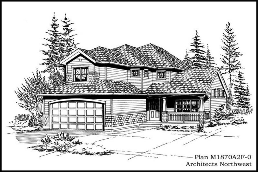Main image for house plan # 14633