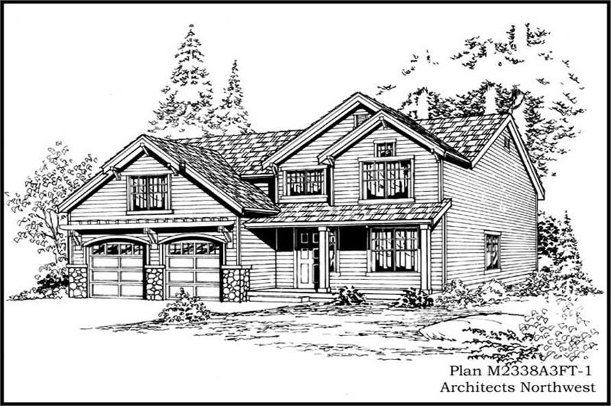 Main image for house plan # 14687