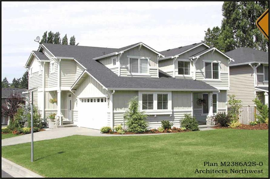 Main image for house plan # 14695
