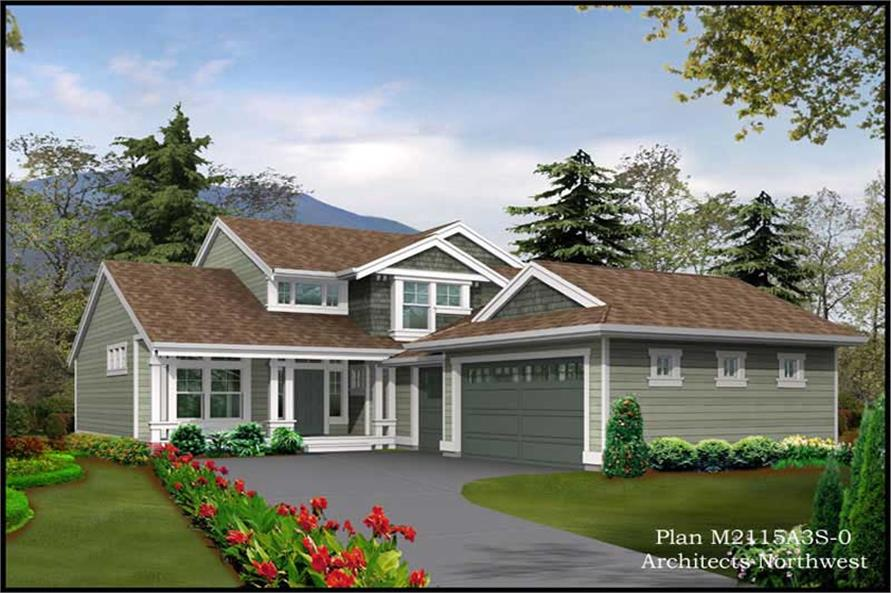 Main image for house plan # 14659