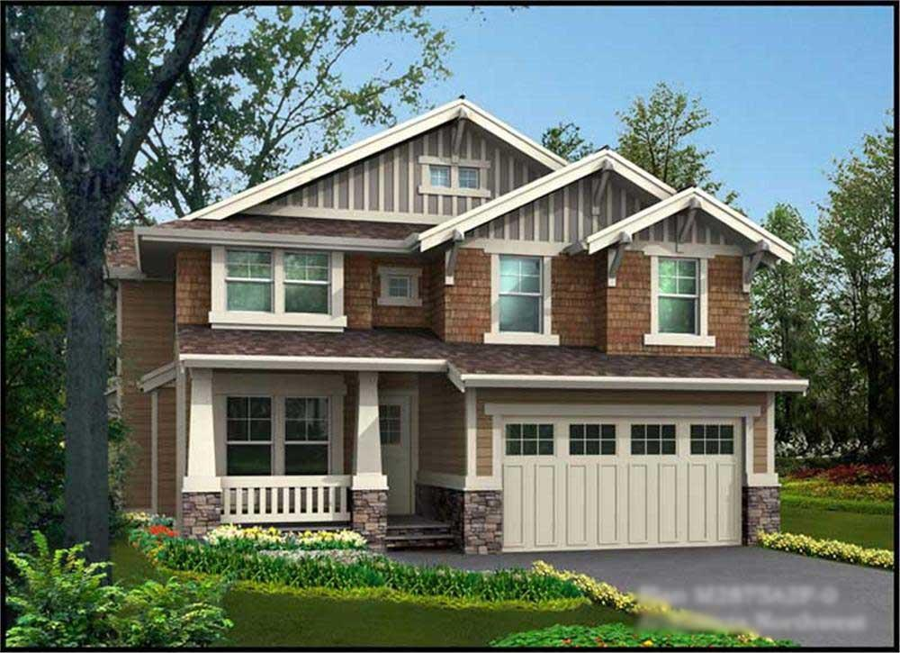 Main image for house plan # 14817