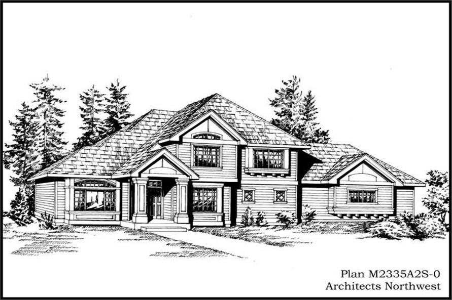 Main image for house plan # 14686