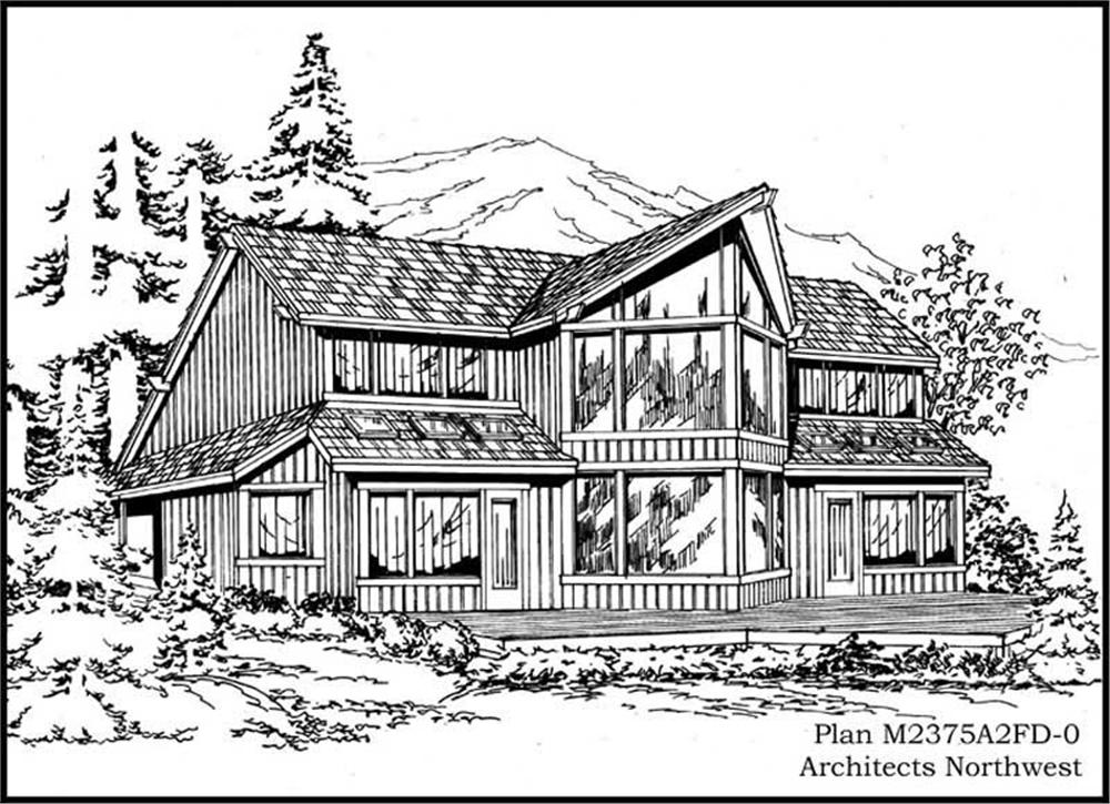 Main image for house plan # 14693