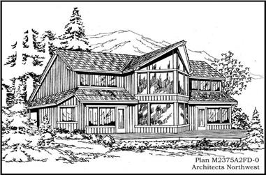 4-Bedroom, 2360 Sq Ft Country House Plan - 115-1111 - Front Exterior