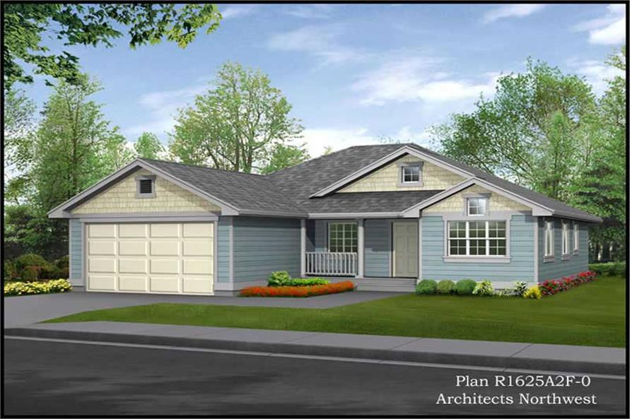 Main image for house plan # 15176
