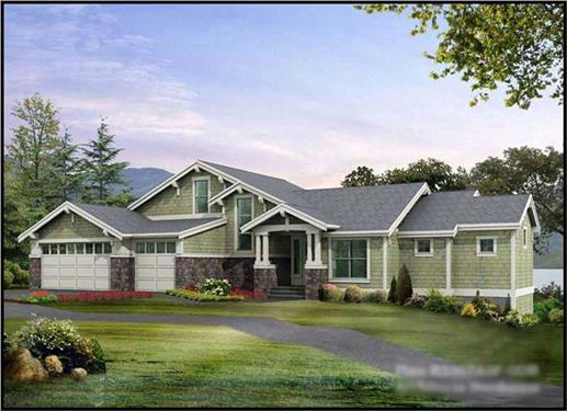 Main image for house plan # 15294