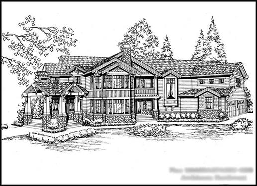 Main image for house plan # 15169