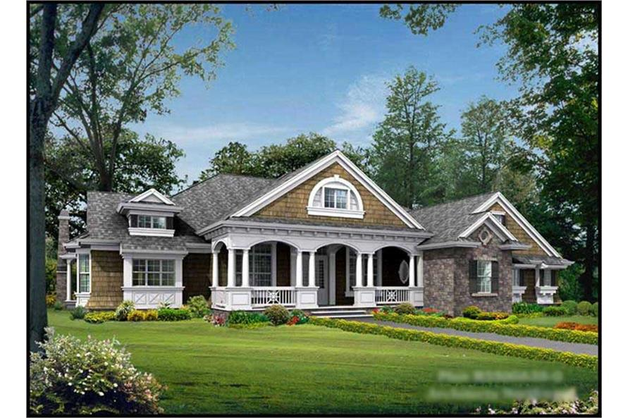 Main image for house plan # 15286
