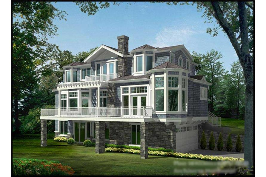 Main image for house plan # 15040