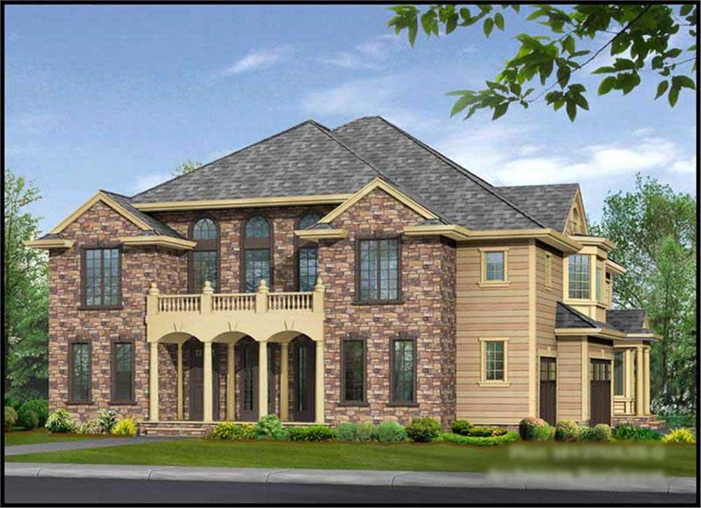 Main image for house plan # 15064