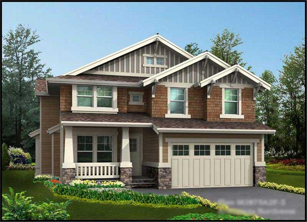 Main image for house plan # 14818