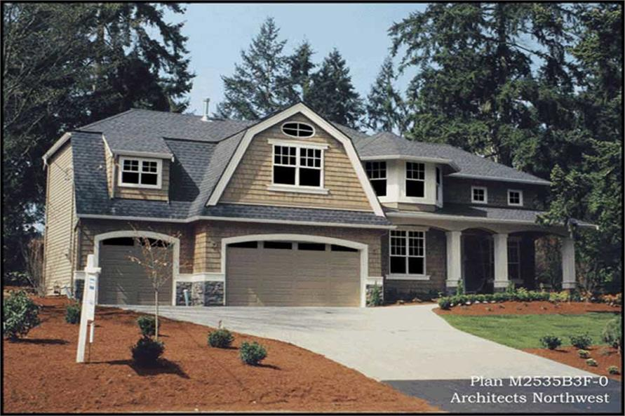 Home Exterior Photograph of this 3-Bedroom,2560 Sq Ft Plan -115-1146