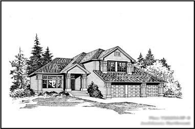 Main image for house plan # 15308