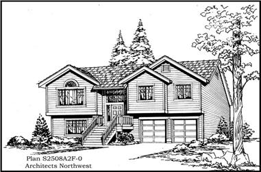 4-Bedroom, 2508 Sq Ft Traditional House Plan - 115-1152 - Front Exterior