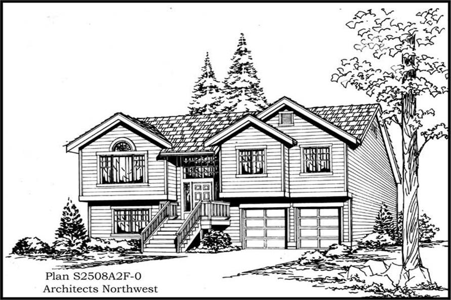 Main image for house plan # 15301