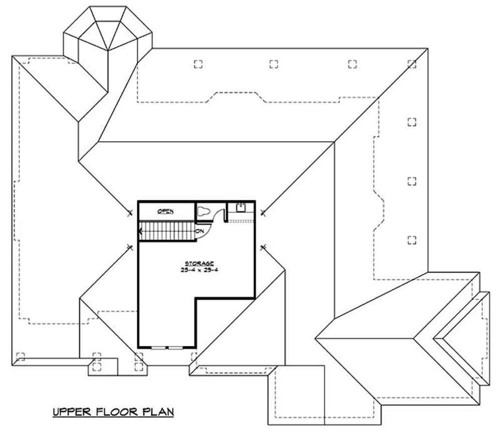 Luxury House Plan 2 Bedrms 2 Baths 4000 Sq Ft 115 1156