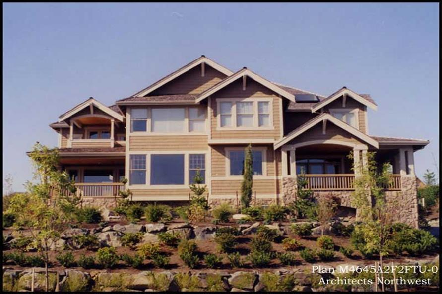 Home Exterior Photograph of this 4-Bedroom,4645 Sq Ft Plan -115-1159