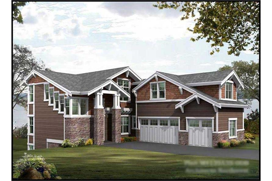 Main image for house plan # 15055