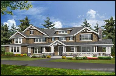 Main image for house plan # 15061