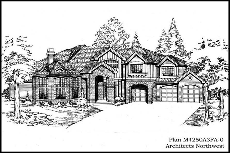 Main image for house plan # 15059