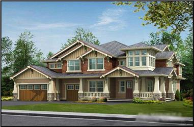 Main image for house plan # 15052