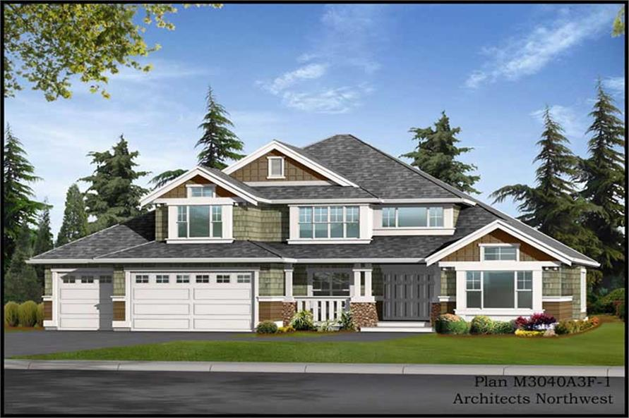 Main image for house plan # 14865