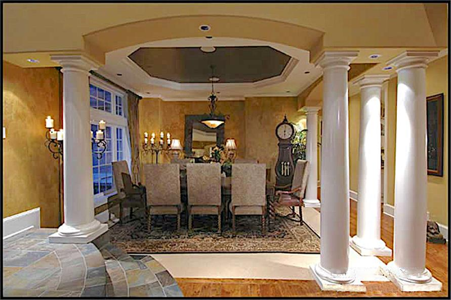 Dining Room of this 4-Bedroom,4684 Sq Ft Plan -4684