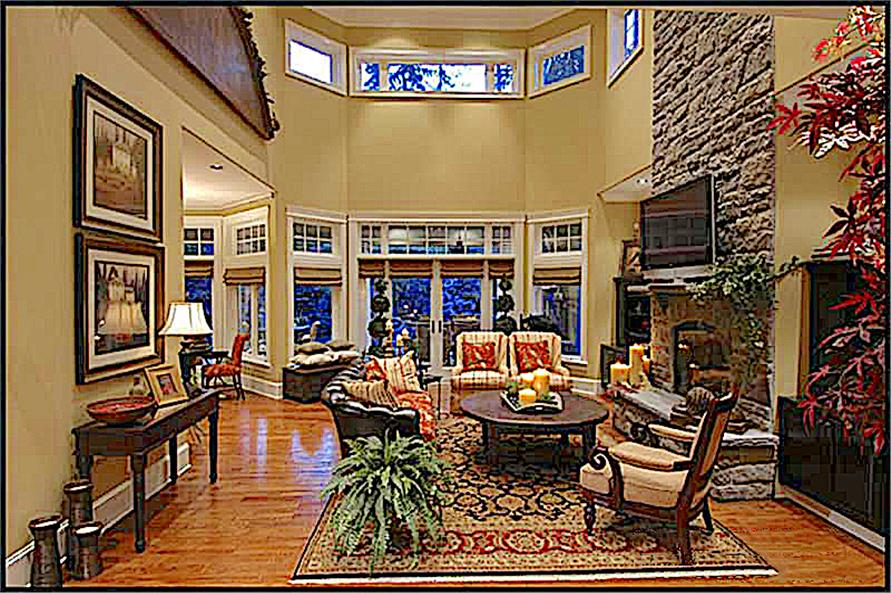 Family Room of this 4-Bedroom,4684 Sq Ft Plan -4684