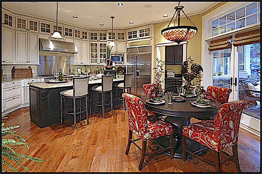 Kitchen: Breakfast Nook of this 4-Bedroom,4684 Sq Ft Plan -4684