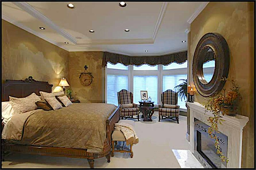 Master Bedroom of this 4-Bedroom,4684 Sq Ft Plan -4684